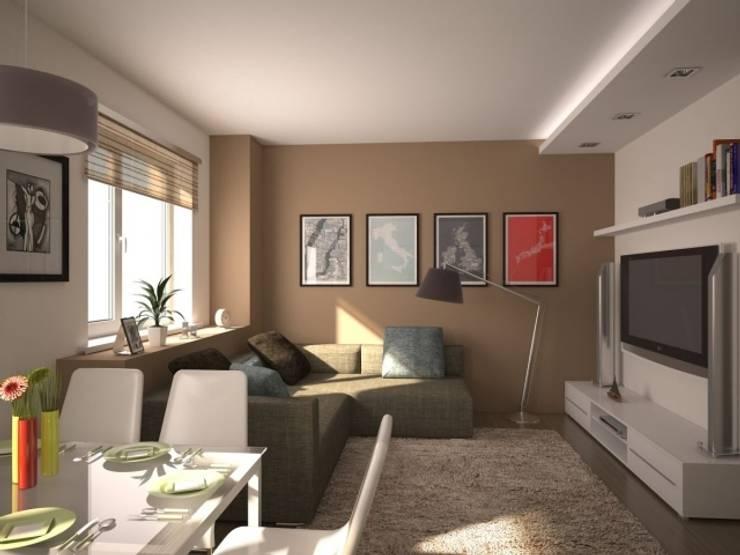 Diseños de Imagen: Salas / recibidores de estilo  por Isiyereyda