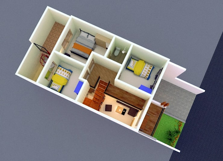 Lantai 2:   by [e] design