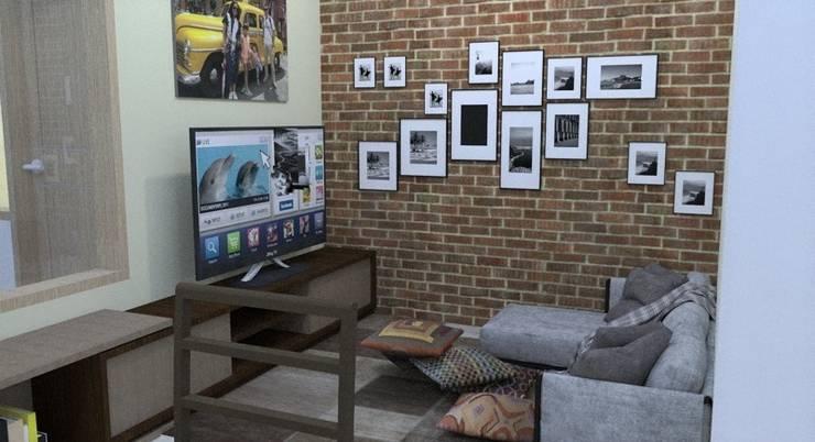 Ruang Keluarga:   by [e] design