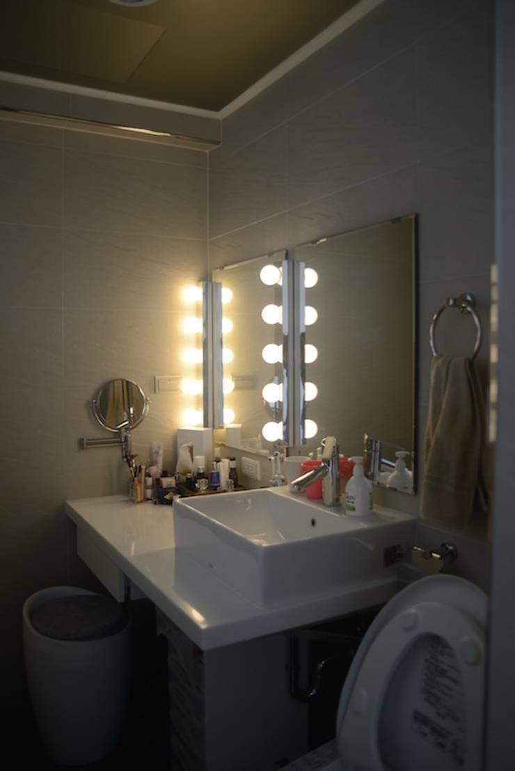 輕工業風活潑住家設計:  更衣室 by 大觀創境空間設計事務所