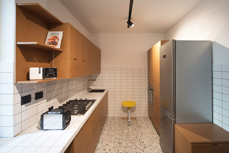 Kitchen تنفيذ PADIGLIONE B
