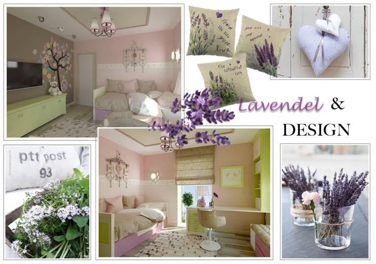 Lavendel-Design:  Kinderzimmer von NK-Line