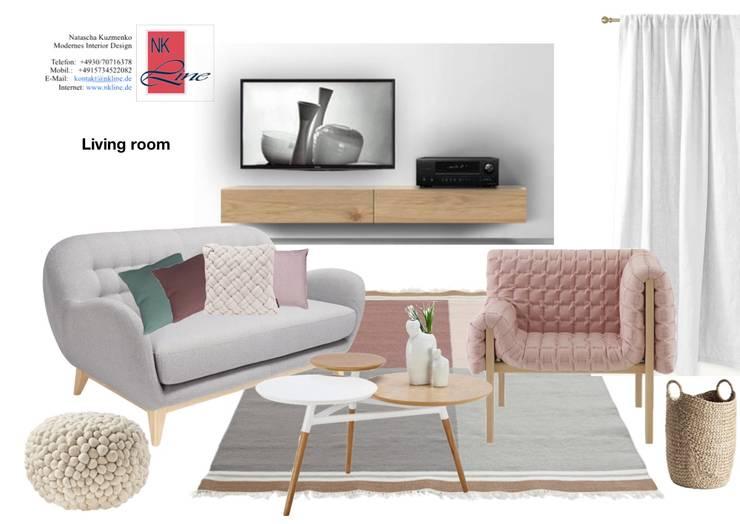 Wohnzimmer :  Wohnzimmer von NK-Line ,Skandinavisch