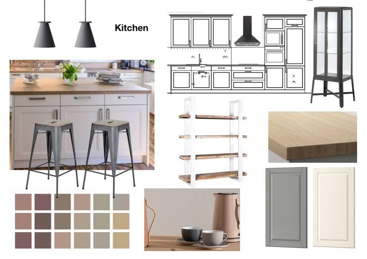 Küche:  Küche von NK-Line ,Skandinavisch