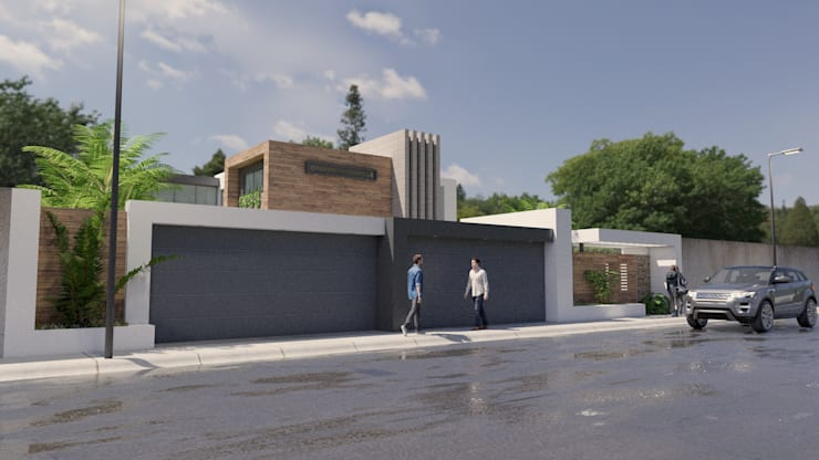 Oleh URBAO Arquitectos Modern Beton