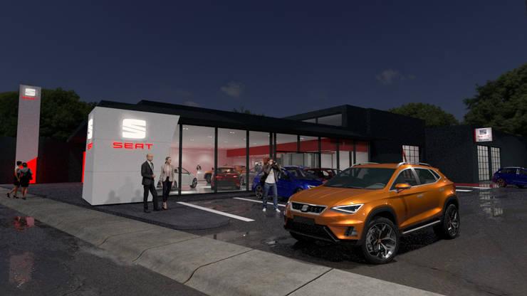 Car Dealerships by URBAO Arquitectos