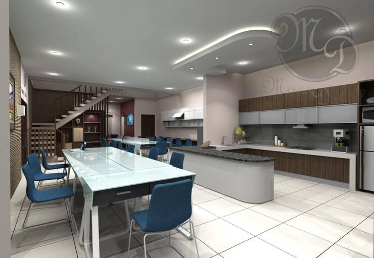 Ruang kerja:  Kantor & toko by Maxx Details
