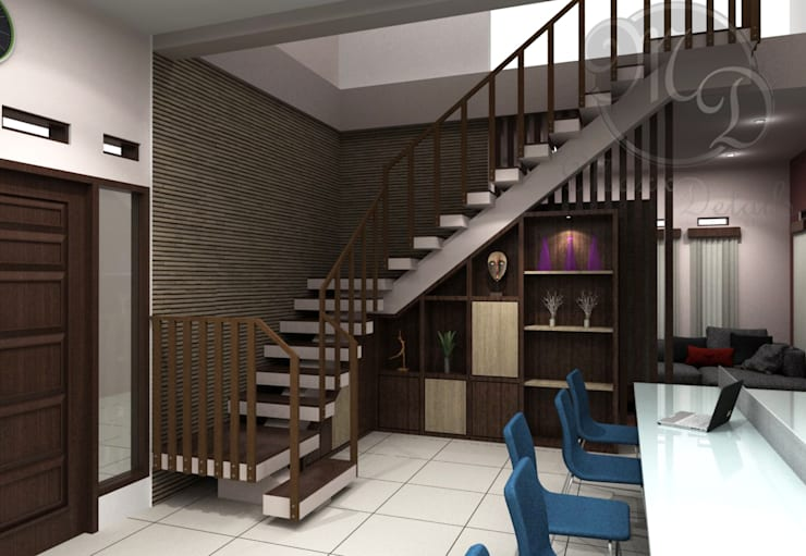 Lantai atas:  Kantor & toko by Maxx Details