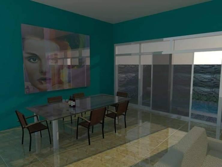 Ruang Makan :   by Angga Design Architecture