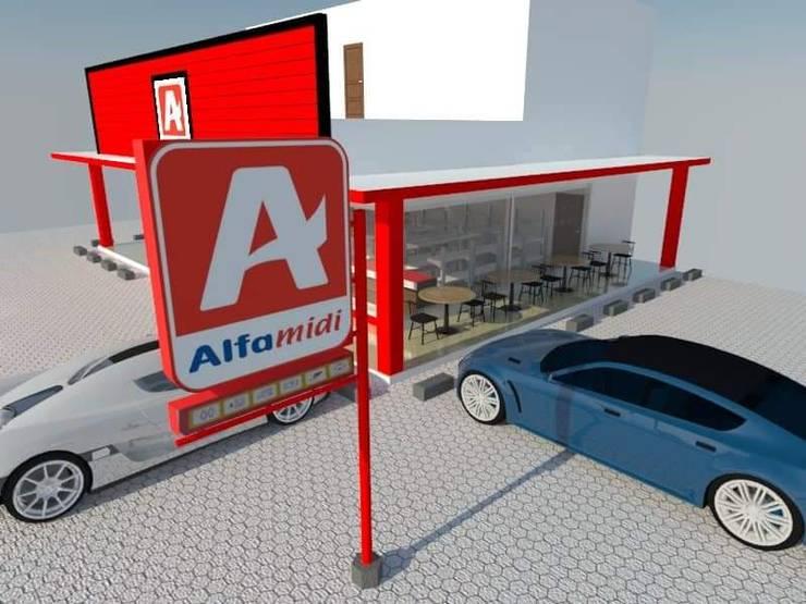 Halaman Parkir :   by Angga Design Architecture