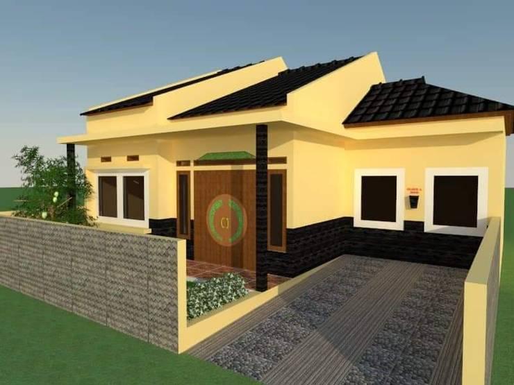 Tampak Depan:   by Angga Design Architecture