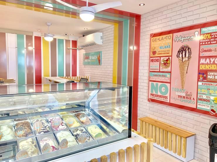diseño de espacios comerciales: Locales gastronómicos de estilo  por ComOn Design