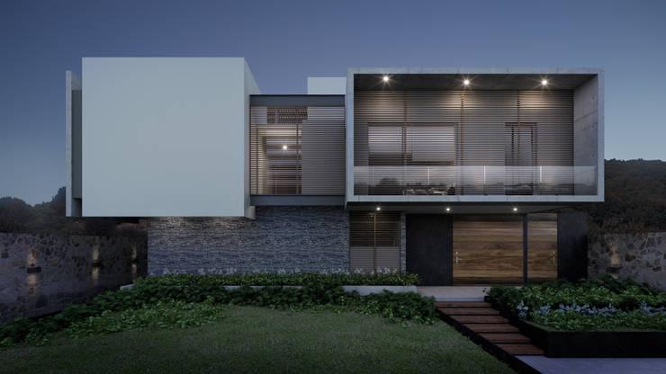 Casas de estilo  por HAC Arquitectura, Moderno