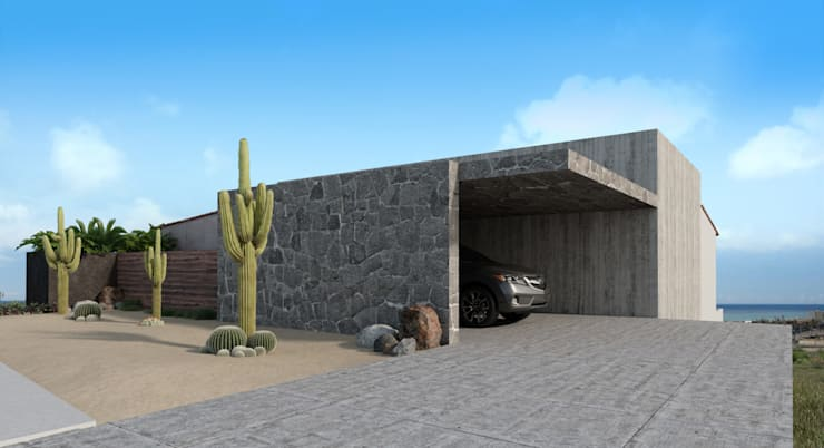 Häuser von HAC Arquitectura, Modern