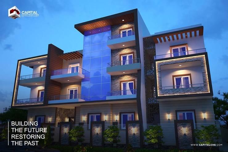 exterior design:   تنفيذ Capital Construction - Eng. Hussein El Serafy