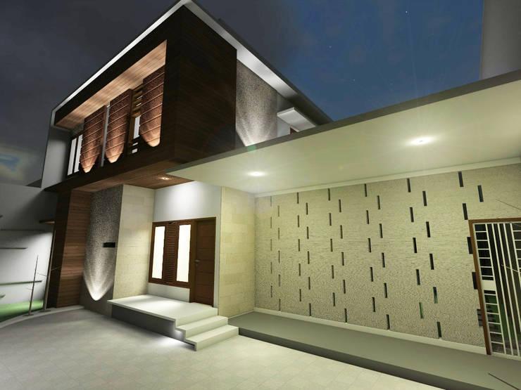 Tampak Depan :   by WARS ( W Architect Studio )