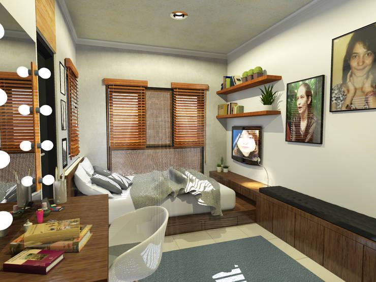 Desain Kamar Tidur (Tampak Lain 2) :   by WARS ( W Architect Studio )