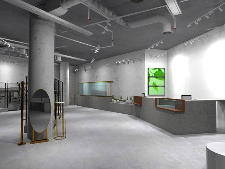 Kasir x Etalase 2:  Pusat Perbelanjaan by WARS ( W Architect Studio )