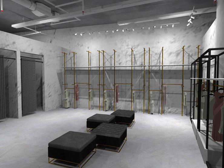 Etalase x Kamar Ganti :  Pusat Perbelanjaan by WARS ( W Architect Studio )