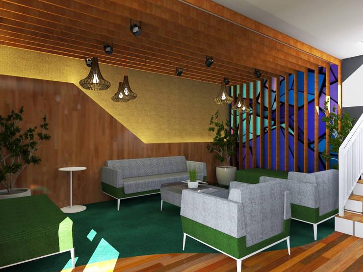 Sofa Lounge :   by WARS ( W Architect Studio )