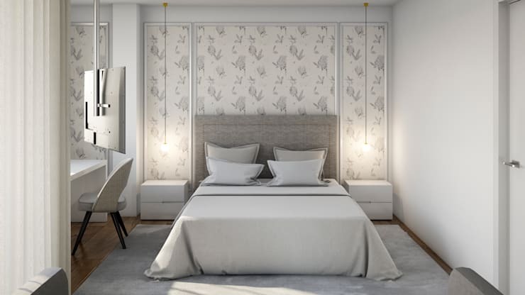 Dormitorios de estilo clásico de Alma Braguesa Furniture Clásico Madera Acabado en madera