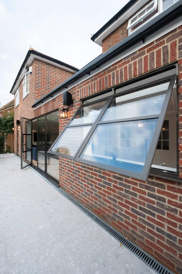 Sieger Legacy windows and door by IQ Glass UK Industrial Aluminium/Zinc