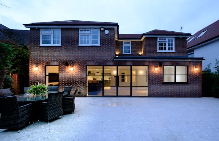 Sieger Legacy windows and door by IQ Glass UK Modern Aluminium/Zinc