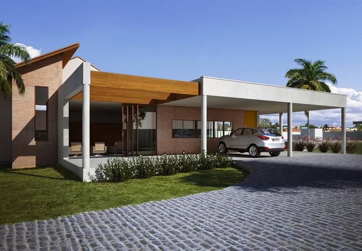 Дома в . Автор – Lozí - Projeto e Obra,