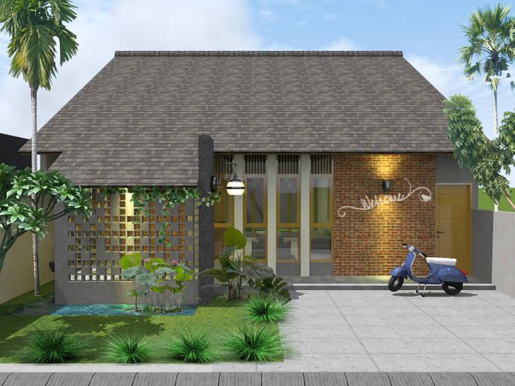 RZ House (Design Depan) :   by WARS ( W Architect Studio )