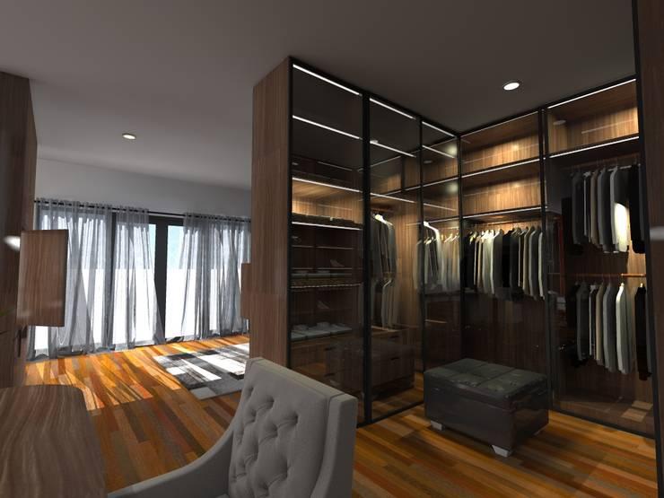 Wardrobe:   by WARS ( W Architect Studio )