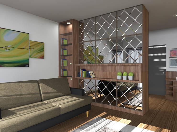 Ruang Tamu :   by WARS ( W Architect Studio )