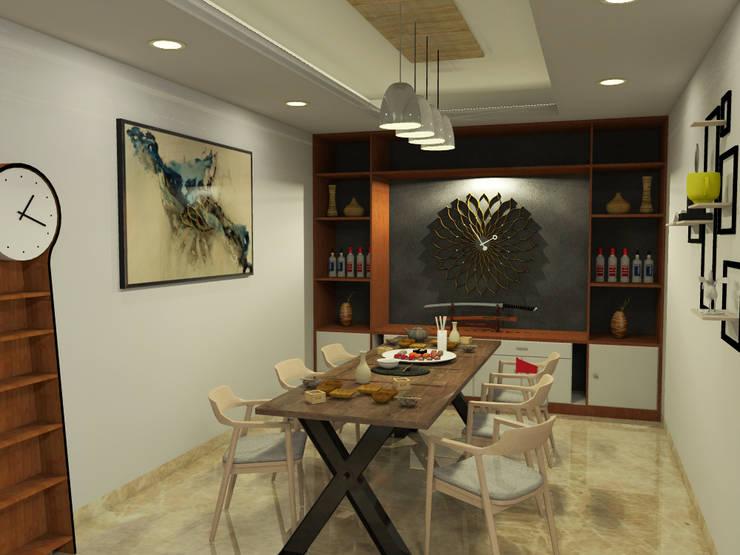 Ruang Makan :   by WARS ( W Architect Studio )