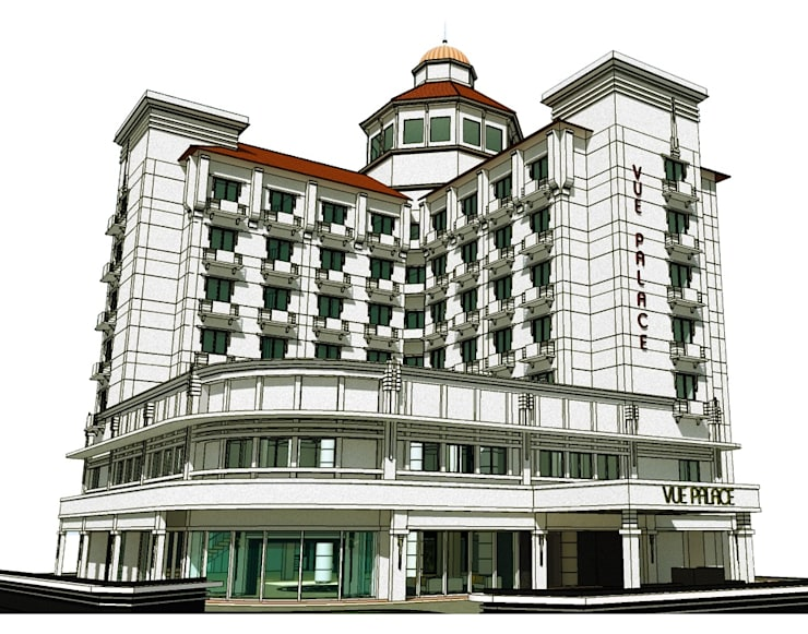 Vue Palace Hotel :   by WARS ( W Architect Studio )