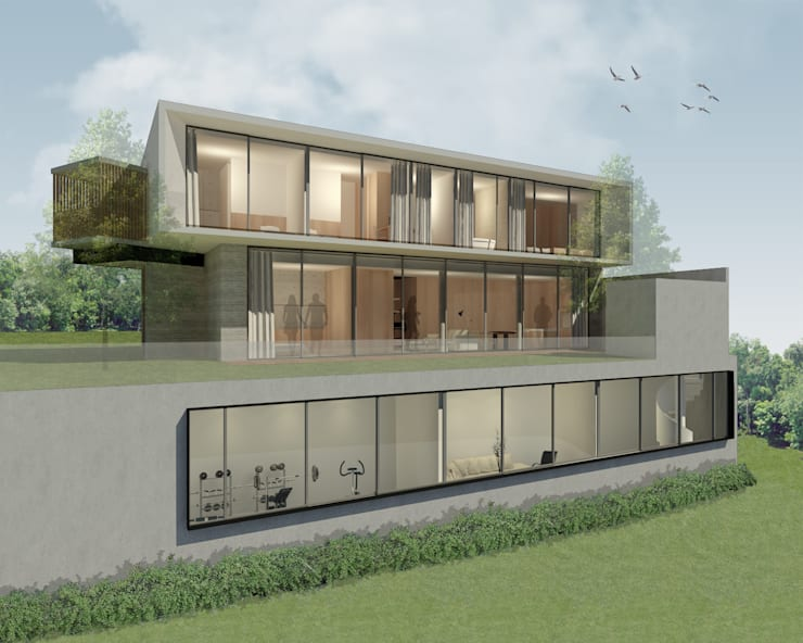 Rumah Linggau :   by KHK Construction