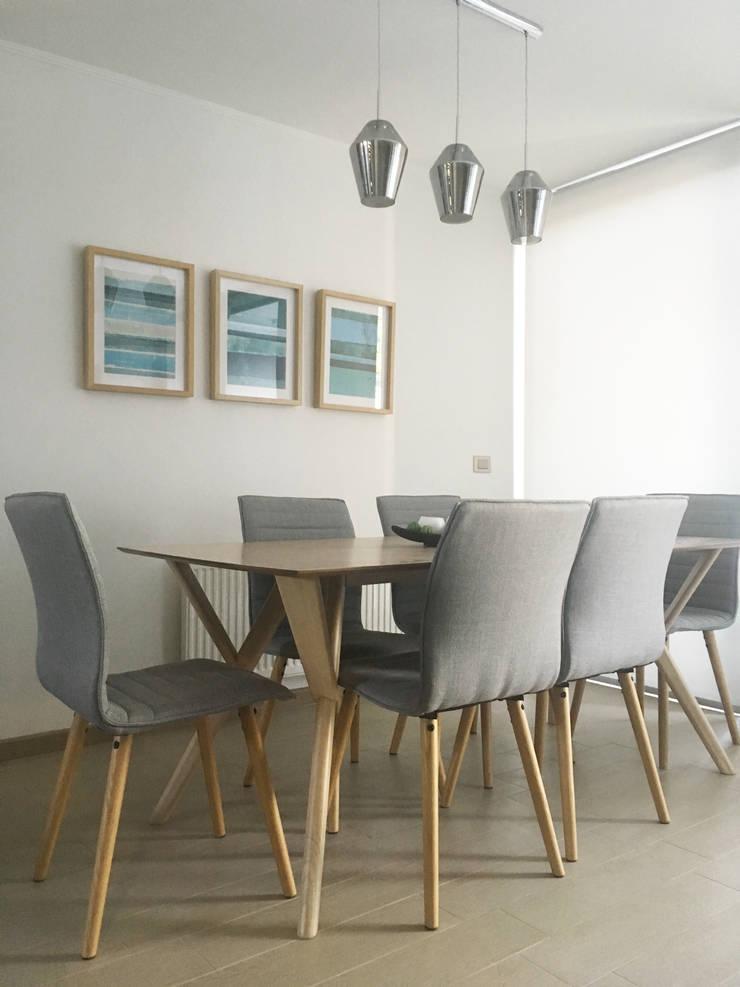 Comedor - Despues : Comedores de estilo  por MM Design