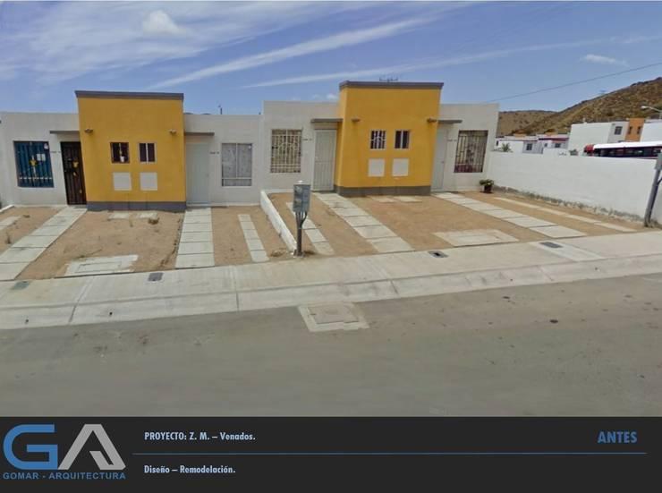 Z. M. - Hacienda Los Venados: Casas de estilo  por  Gomar Arquitectura