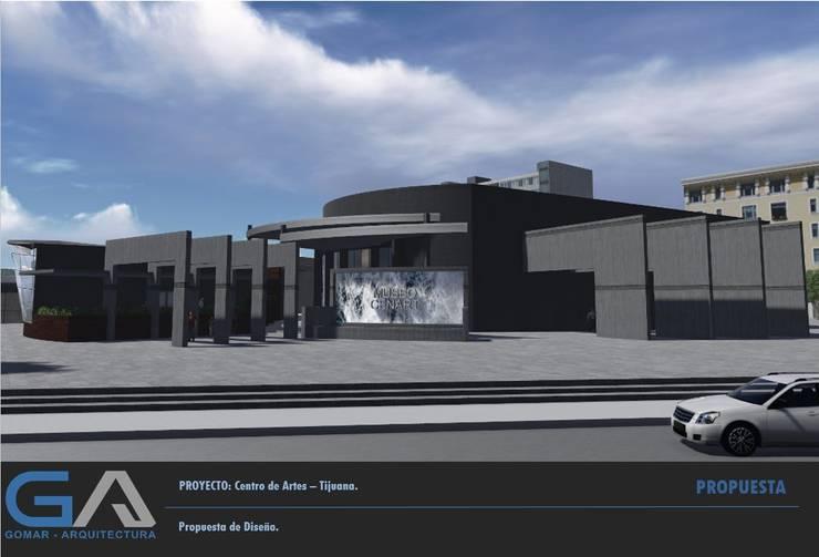 Centro de Artes - Tijuana:  de estilo  por  Gomar Arquitectura