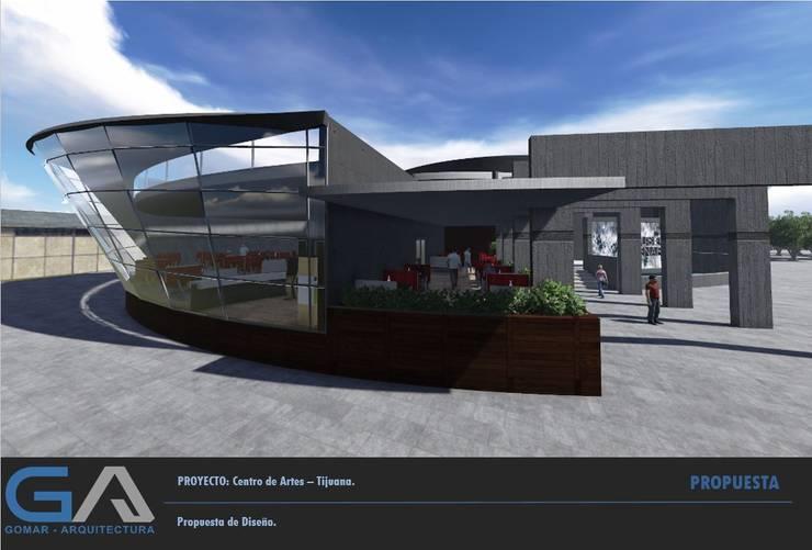 Centro de Artes – Tijuana:  de estilo  por  Gomar Arquitectura