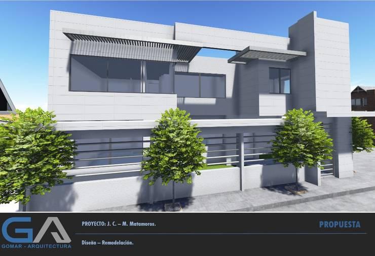 J.C. – M. Matamoros de Gomar Arquitectura