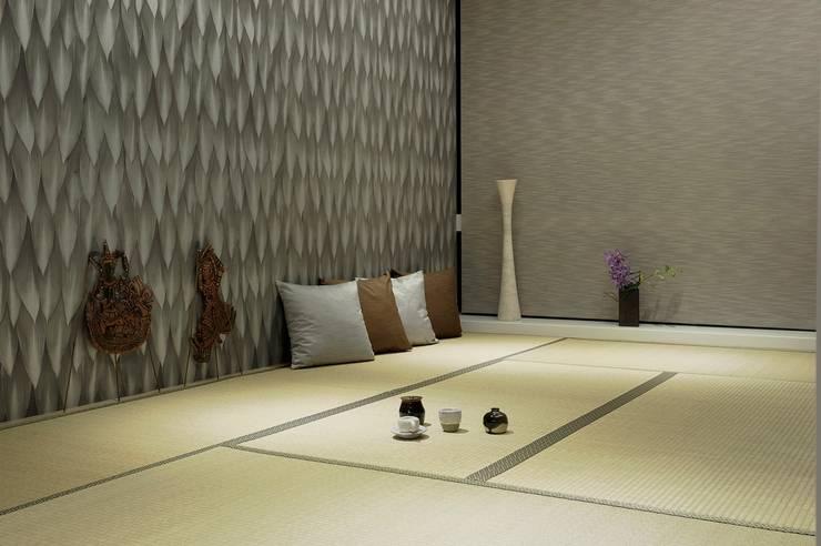 和室是親友們喜歡聚在一起的地方:  牆面 by 直方設計有限公司