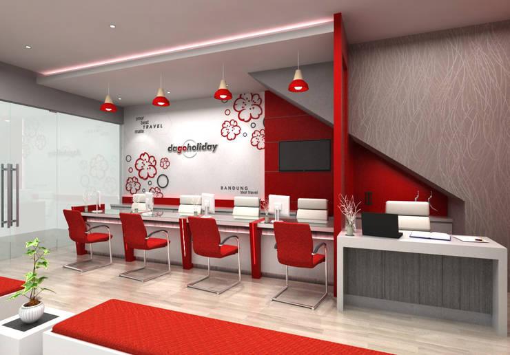 Kantor Travel Dago Holiday Bandung:  Kantor & toko by Maxx Details