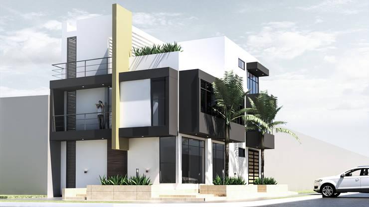 casa fernando, jamundi: Casas de estilo  por Am arquitectura