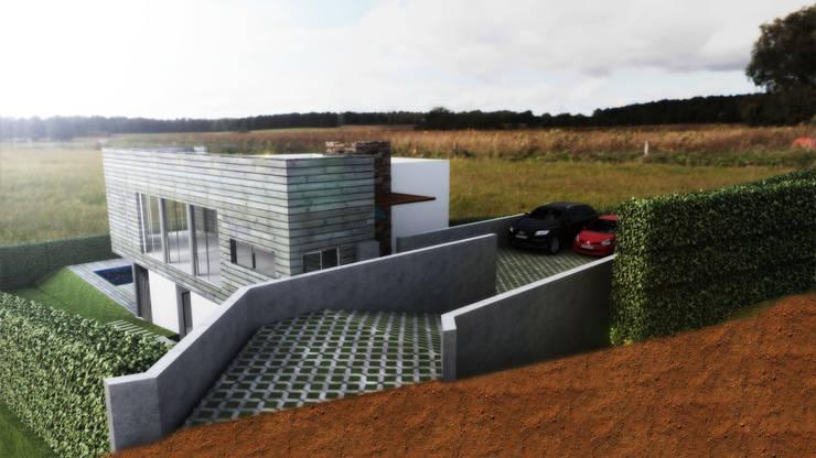 Casa efrain,buitrera Casas modernas de Am arquitectura Moderno