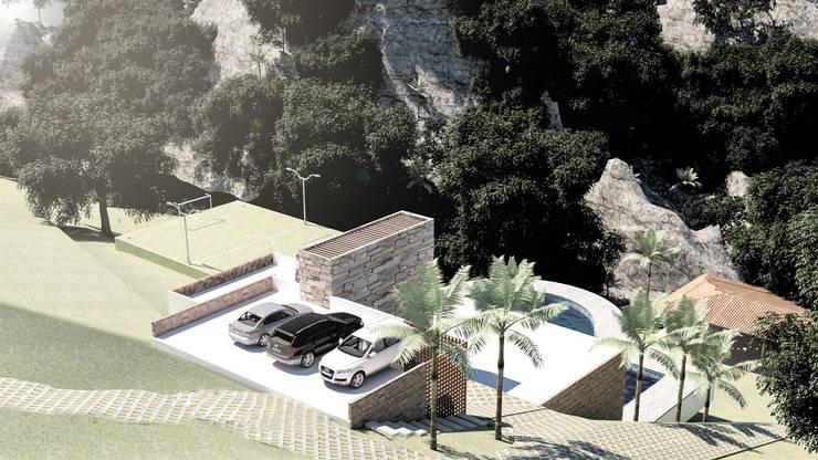 Casa abelardo, las pilas jamundi: Casas de estilo  por Am arquitectura