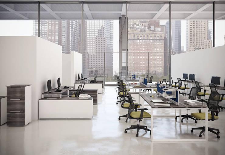 Espacios de Trabajo: Estudios y oficinas de estilo  por GREAT+MINI