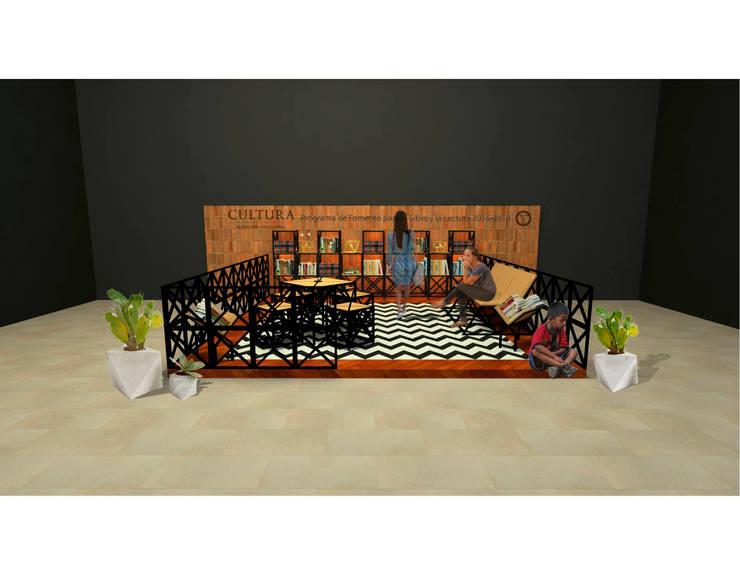 Imagen general del proyecto.:  de estilo  por Creer y Crear. Arquitectura/Diseño/Construcción, Ecléctico