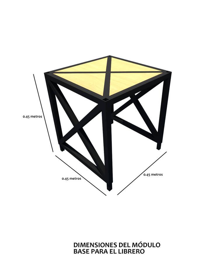 Módulo base.:  de estilo  por Creer y Crear. Arquitectura/Diseño/Construcción, Ecléctico