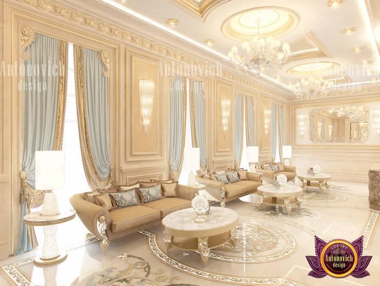 Famous Hall Interior Design:   by Luxury Antonovich Design
