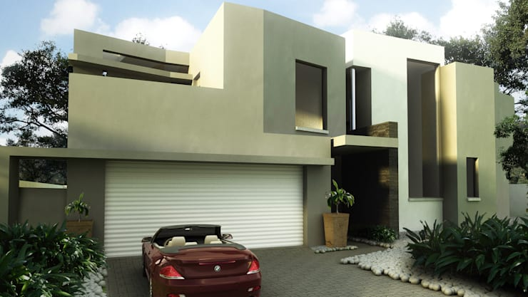 House Sandown:  Houses by Huneberg Viljoen Architects
