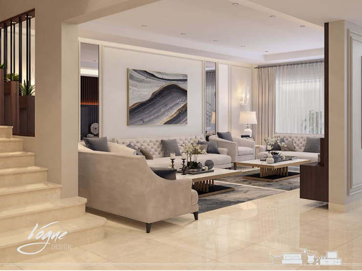 Living room by Vogue Design, Classic